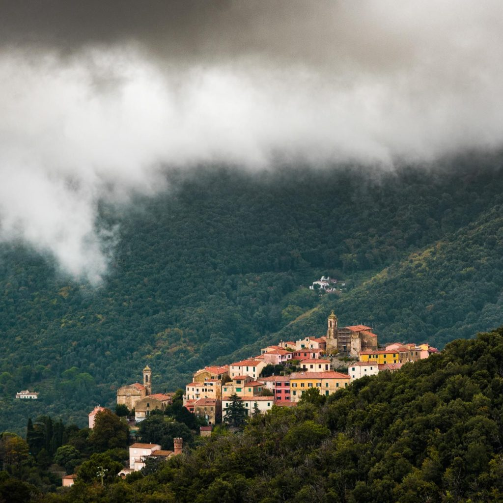 Town of Elba Island, Italy