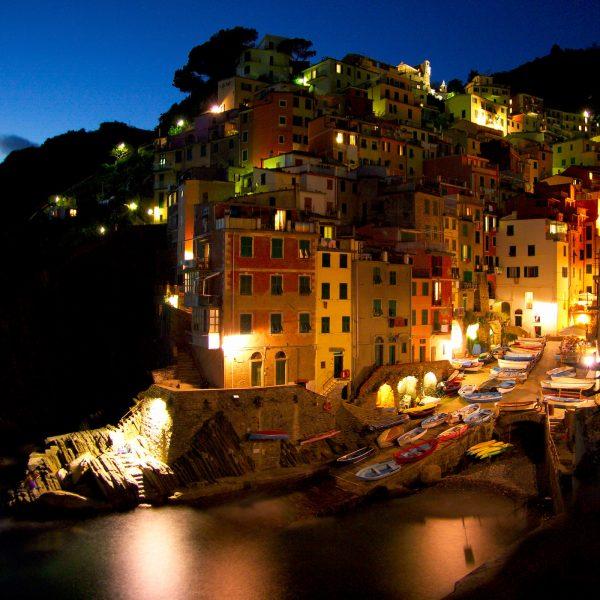 Riomaggiore,  Cinque Terre, Liguria, Italy. Photo by Frits Meyst