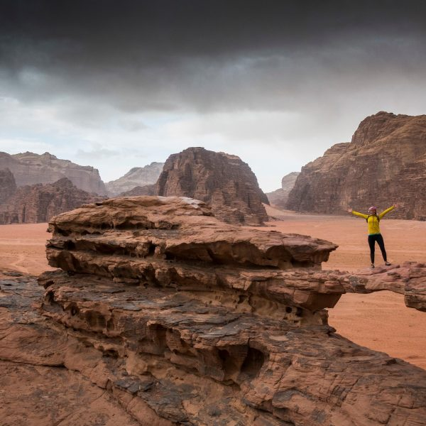Wadi Rum is a protected desert wilderness in southern Jordan.  Photo by Frits Meyst